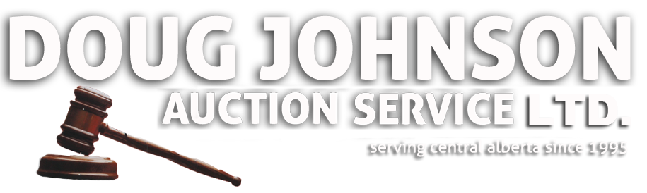 Doug Johnson Auction Service Logo